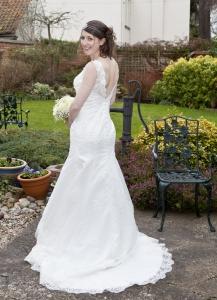 Altered Wedding Dress