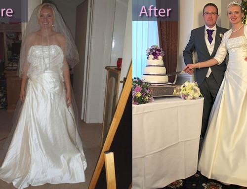 Wedding Dress for Stefanie Hingley