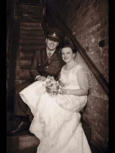 40s Wedding - Stephanie Groves