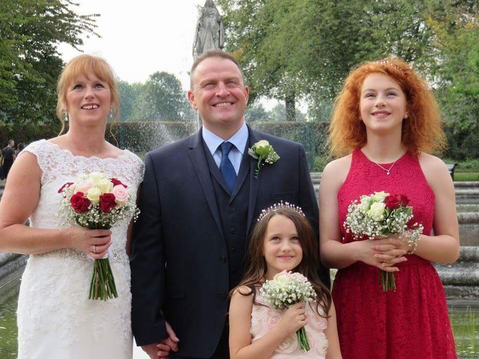wedding alterations Sue Brown